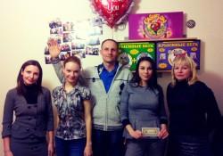 Оксана, Полина, Сергей, Я (Аня) и Светлана